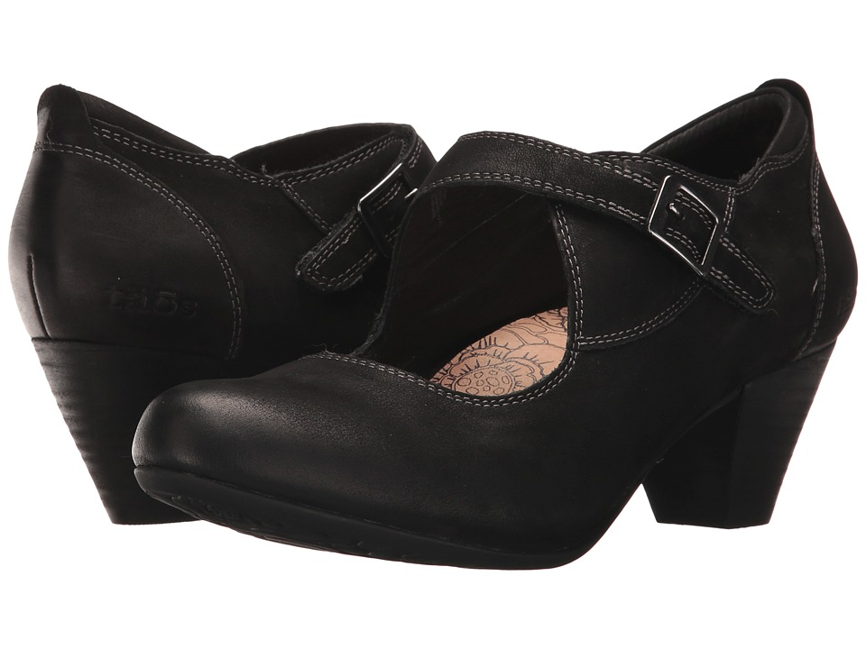 Taos Footwear Studio (Black Oiled Leather) Women