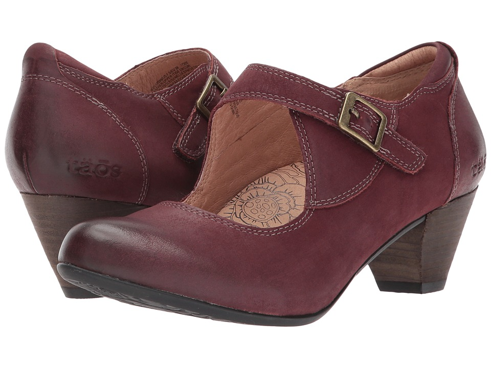 Taos Footwear Studio (Bordeaux Oiled Leather) Women