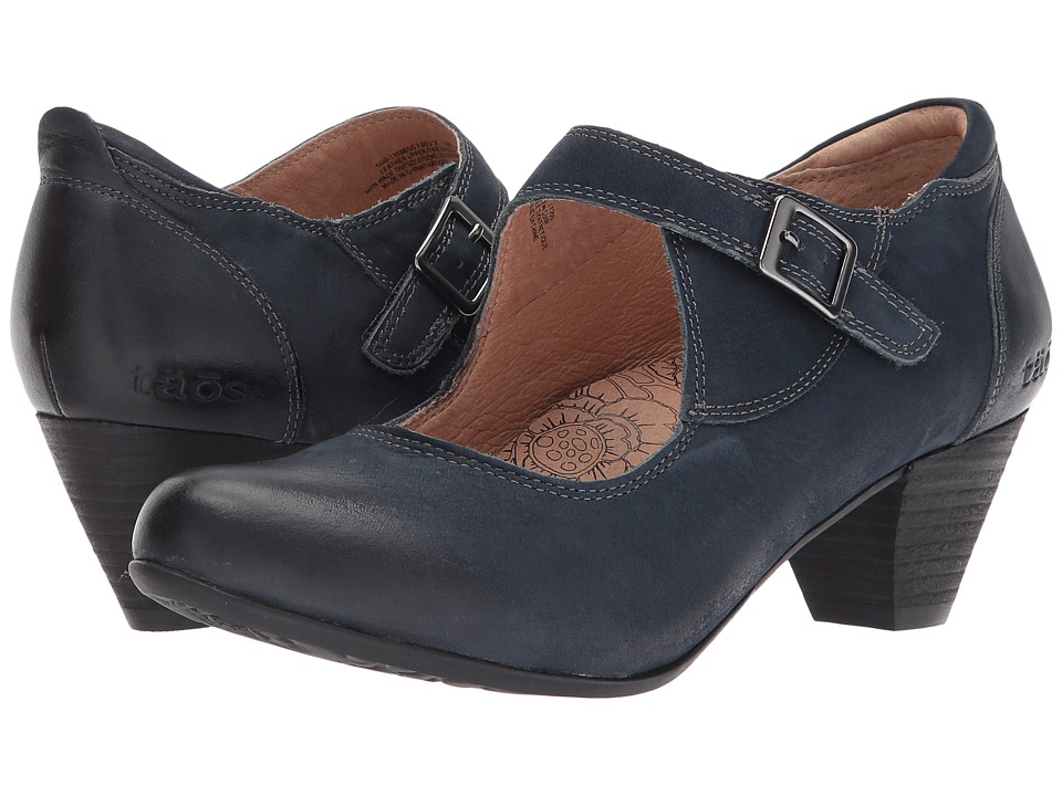 Taos Footwear Studio (Navy Oiled Leather) Women