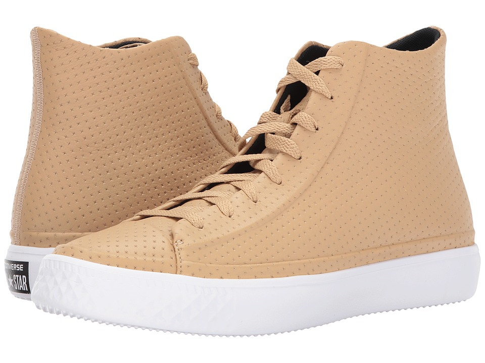 Converse - Chuck Taylor All Star Modern Perforated Leather (Light Fawn/Light Twine) Shoes