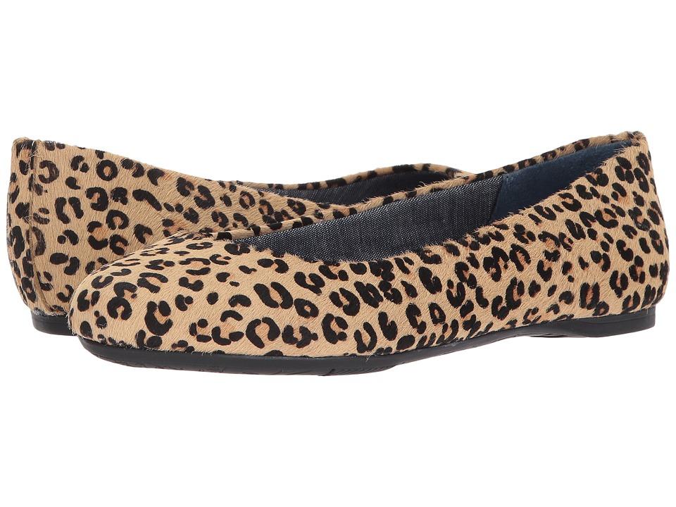 Dr. Scholl's Giorgie (Tan/Black Leopard Pony Hair) Women's Shoes