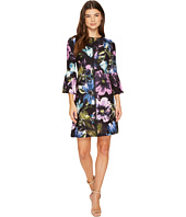 Christin Michaels - Augusta Bell Sleeve Floral Dress