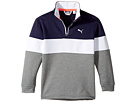 PUMA Golf Kids - PWRWarm JR 1/4 Zip (Big Kids)