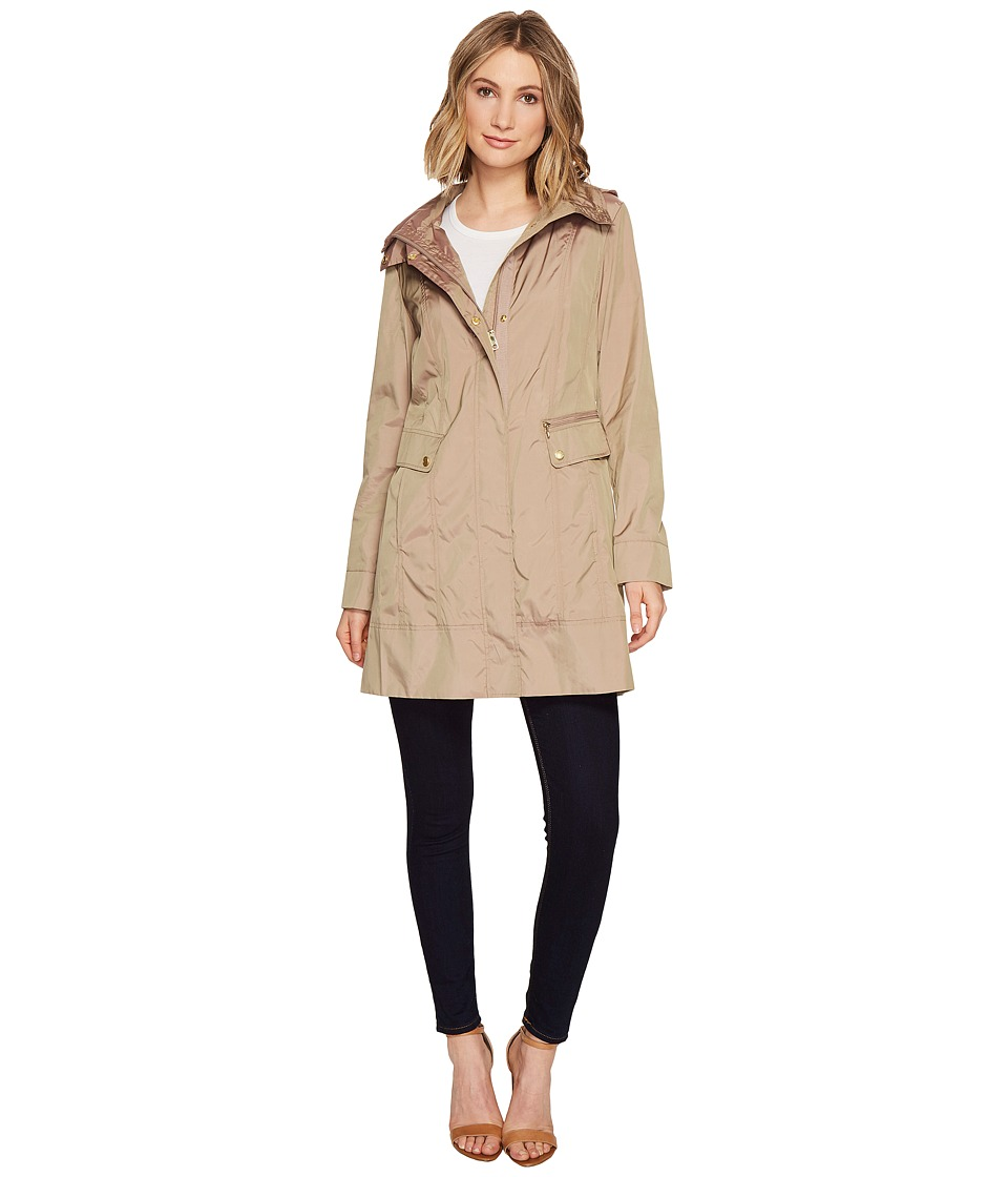Cole Haan 34 1/2 Single Breasted Rain Jacket with Removab...