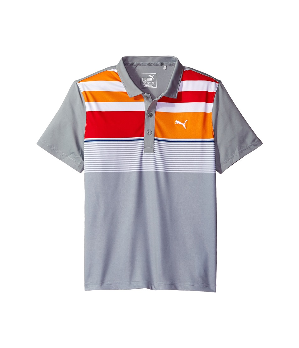 PUMA Golf Kids - Road Map Asymmetrical Polo JR