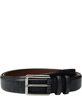 Torino Leather Co. - 35mm Italian Brushed Gator Tail Embossed Calf