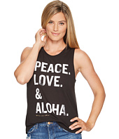 Spiritual Gangster - PLA Stacked Muscle Tank Top
