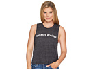 Namaste Beaches Arch Crop Tank Top