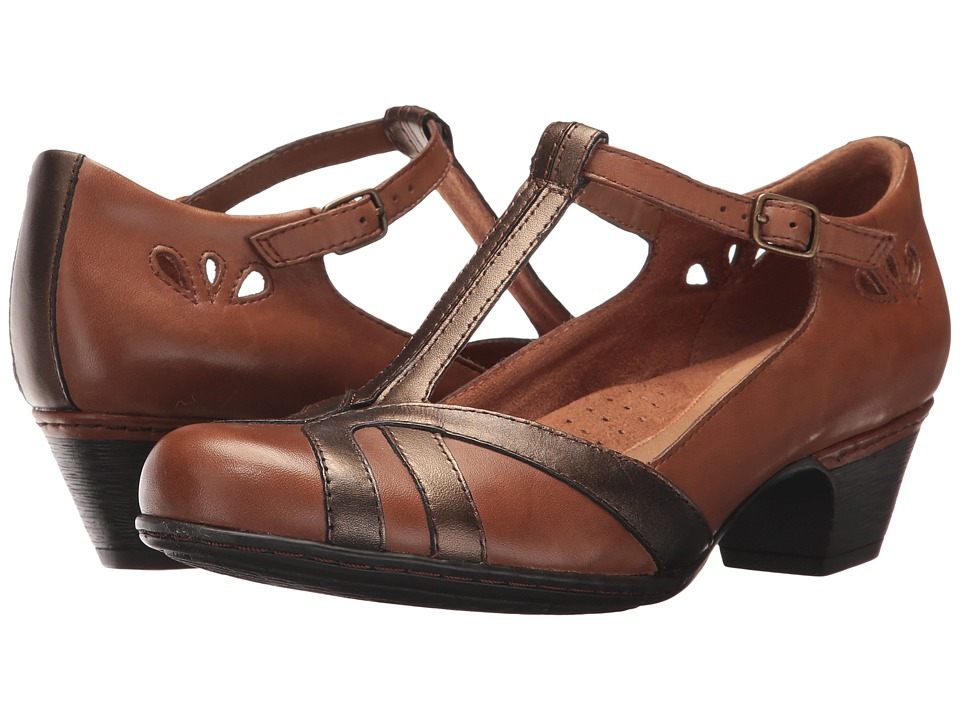 Rockport Cobb Hill Collection Cobb Hill Angelina (Tan Multi) Women