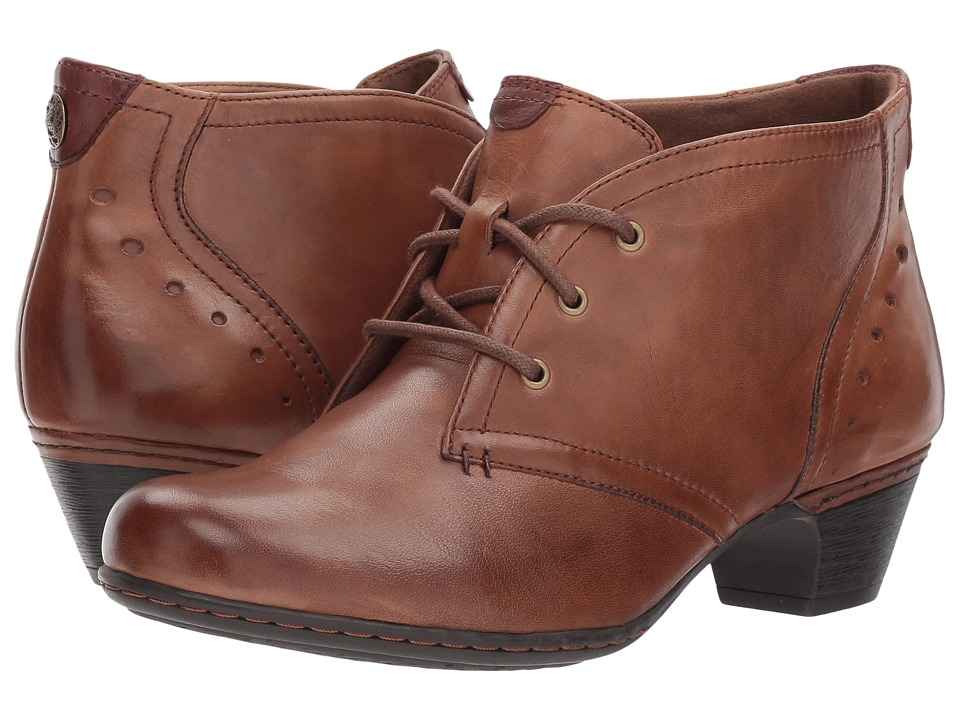 Rockport Cobb Hill Collection Cobb Hill Aria (Almond Leather) Women's Lace-up Boots