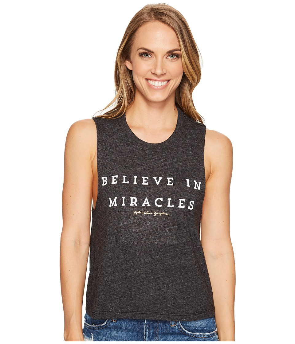 Spiritual Gangster Spiritual Gangster - Believe In Miracles Crop Tank Top
