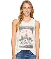 Spiritual Gangster - Mystic Palms Rocker Tank Top
