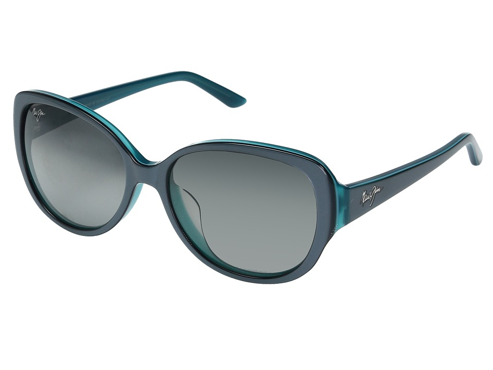 Maui Jim - Swept Away (Blue/Grey with Teal/Neutral Grey) Fashion Sunglasses