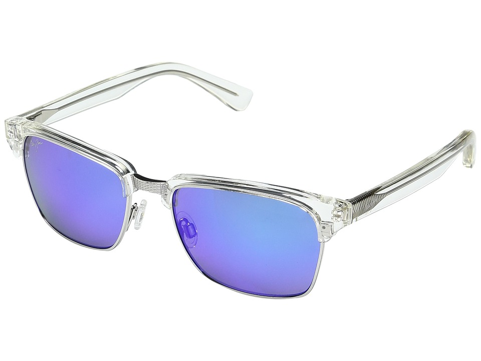 Maui Jim - Kawika Blue Hawaii (Crystal/Blue Hawaii) Fashion Sunglasses