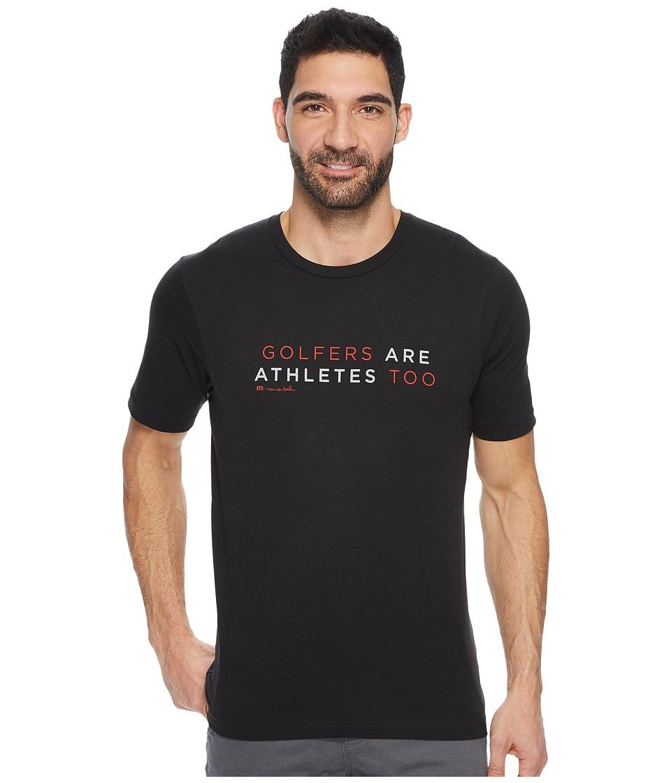 TravisMathew Ted T-Shirt (Black) Men