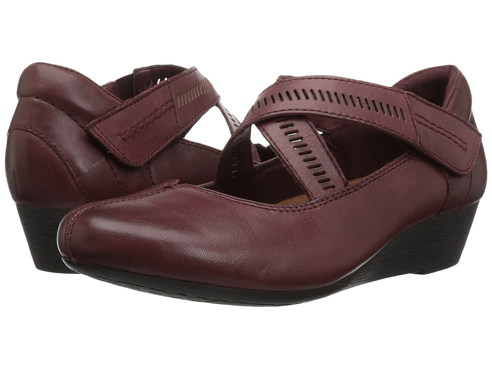 Rockport Cobb Hill Collection Cobb Hill Janet (Merlot Leather) Women