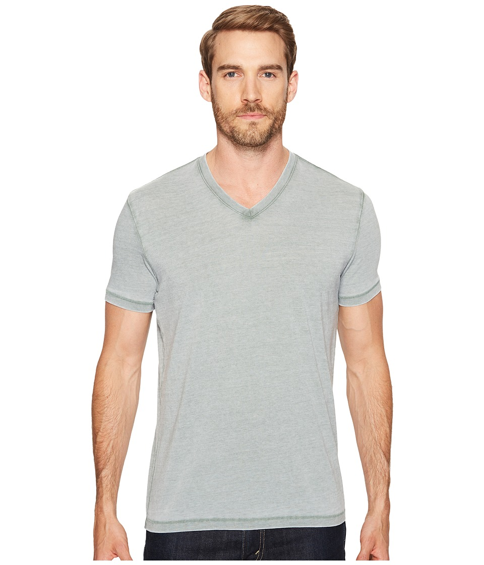 Lucky Brand Burnout V-Neck Tee (Laurel Wreath) Men