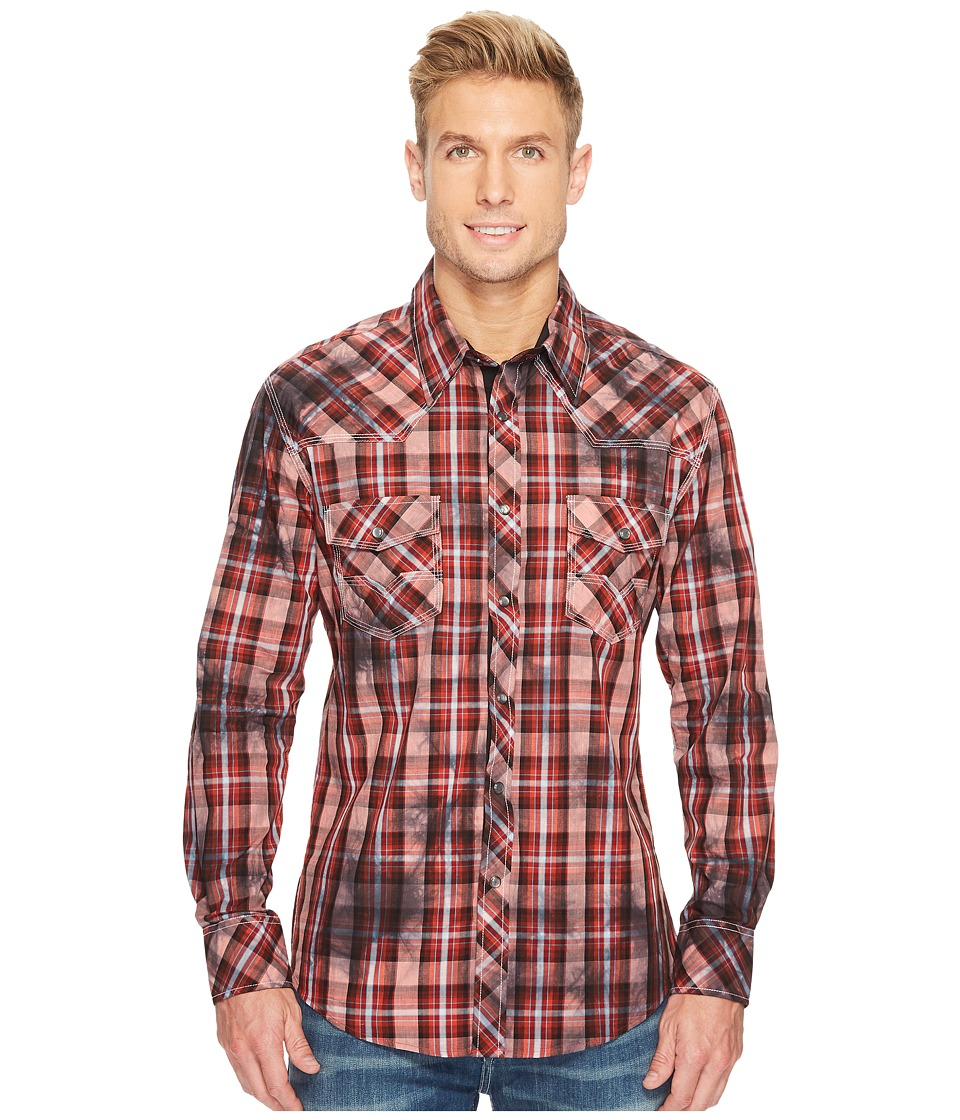 Rock and Roll Cowboy - Long Sleeve Snap B2S3125
