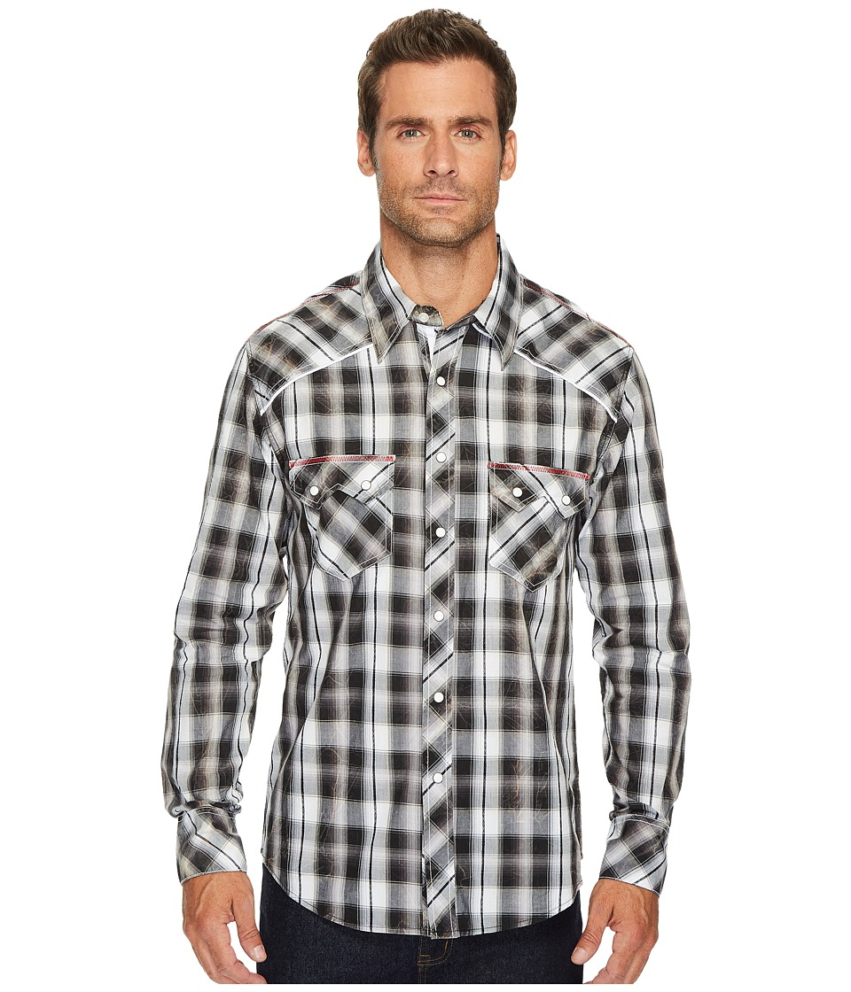 Rock and Roll Cowboy - Long Sleeve Snap B2S2069