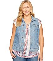 Lucky Brand - Plus Size Plus Tomboy Trucker Vest