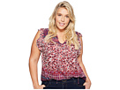 Lucky Brand - Plus Size Lucy Peasant Top