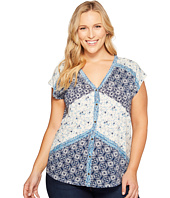 Lucky Brand - Plus Size Bali Ditsy Top