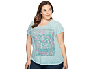 Lucky Brand - Plus Size Floral Gardens Tee