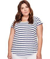 Lucky Brand - Plus Size Stripe Tee