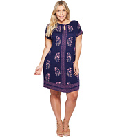Lucky Brand - Plus Size Printed Tee Dress
