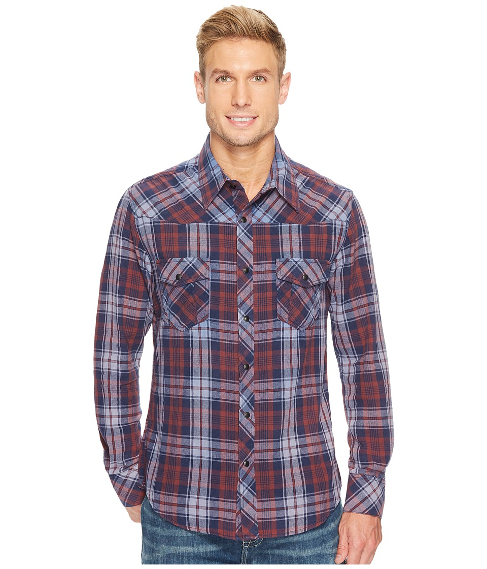 Rock and Roll Cowboy - Long Sleeve Snap B2S3142