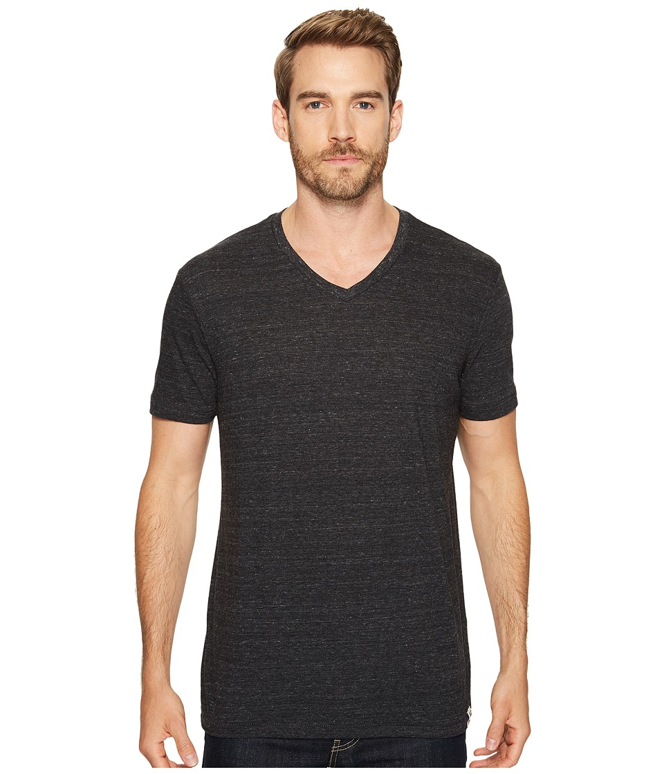 Lucky Brand V-Neck Tee (Onyx) Men