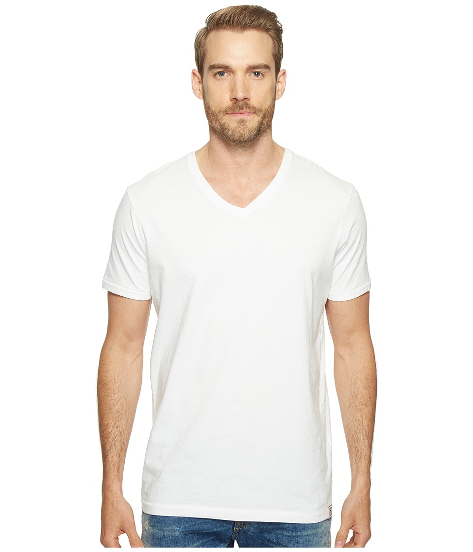 Lucky Brand V-Neck Tee (Bright White) Men