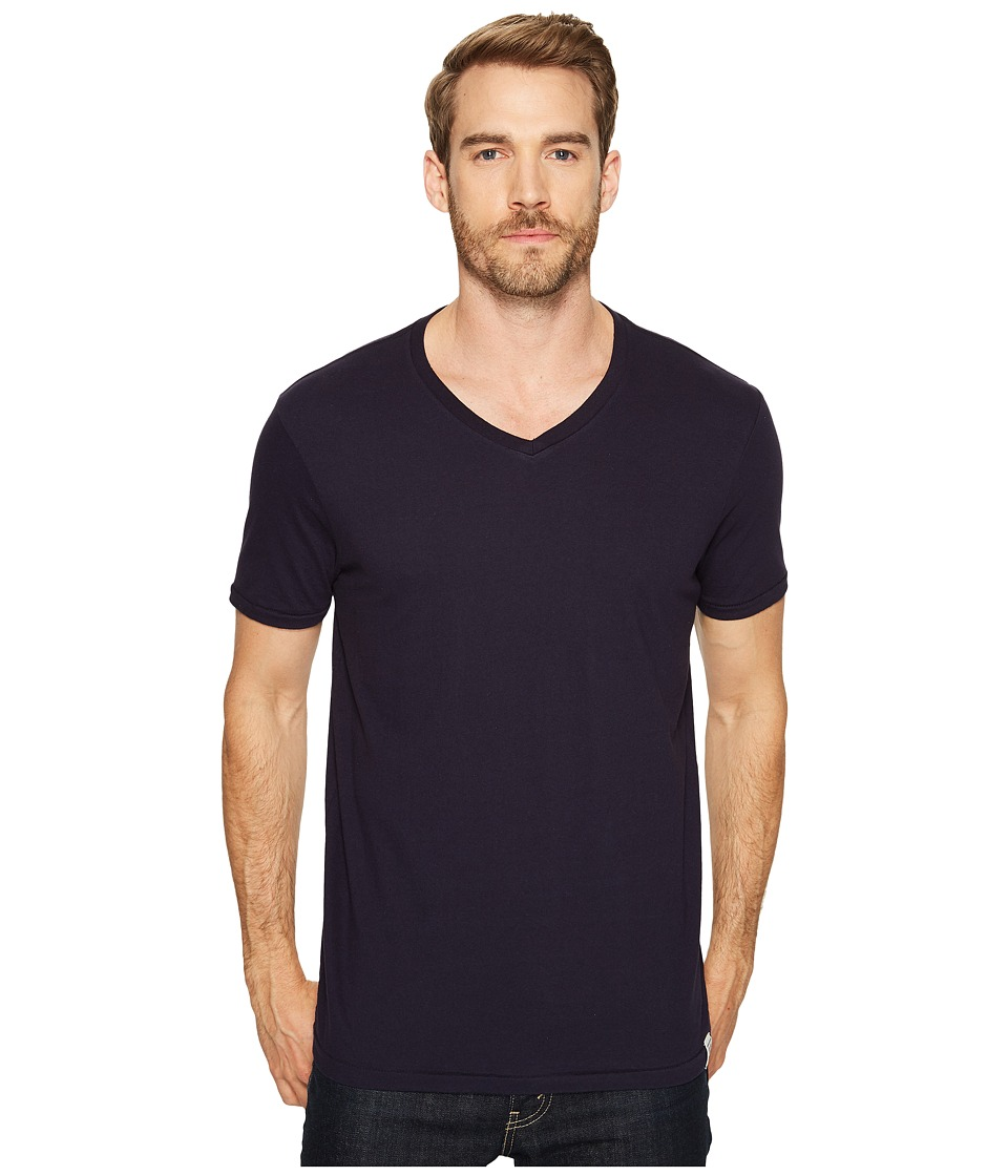 Lucky Brand V-Neck Tee (Night Sky) Men