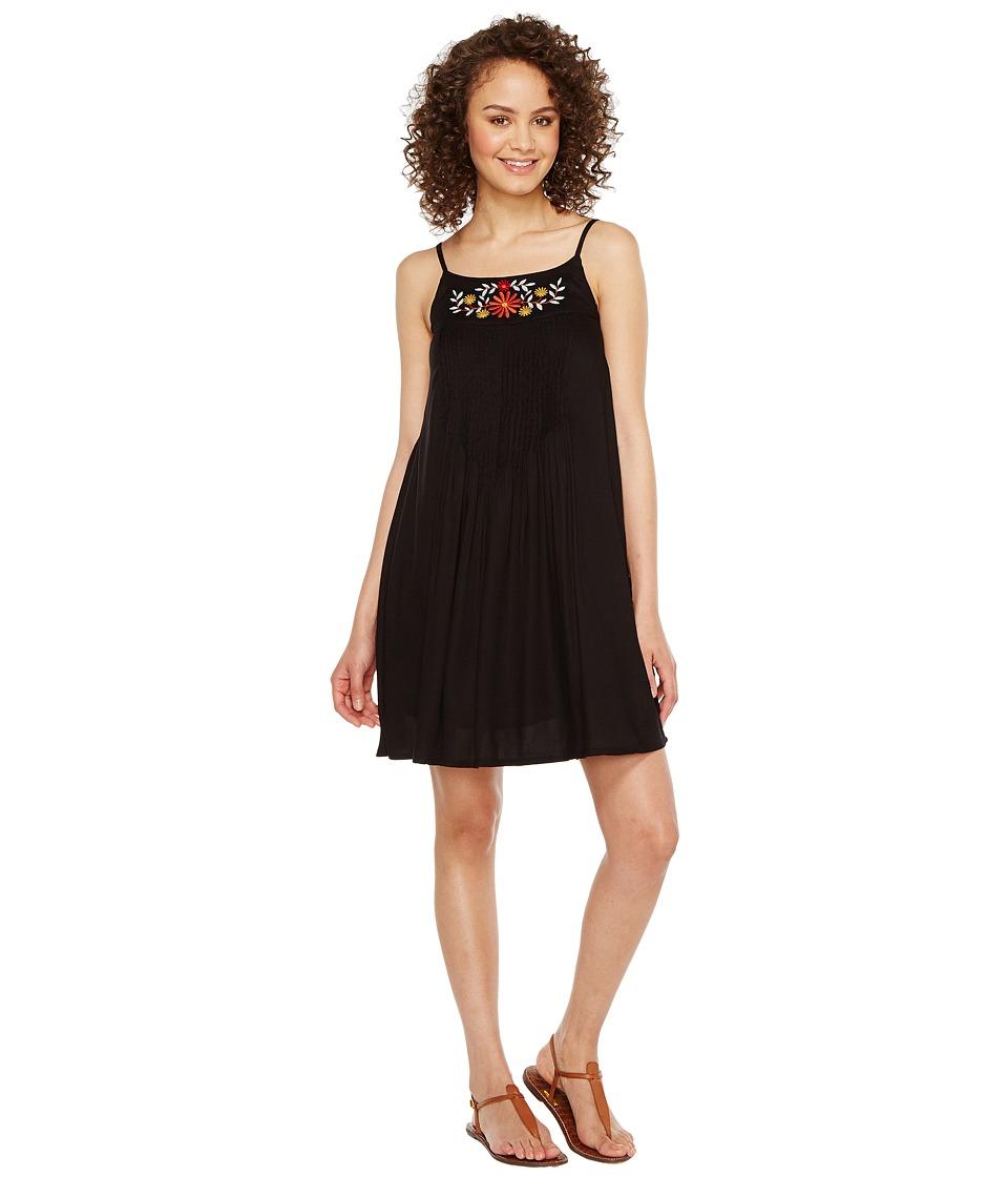Roper 1154 Rayon Crepe Tank Dress (Black) Women