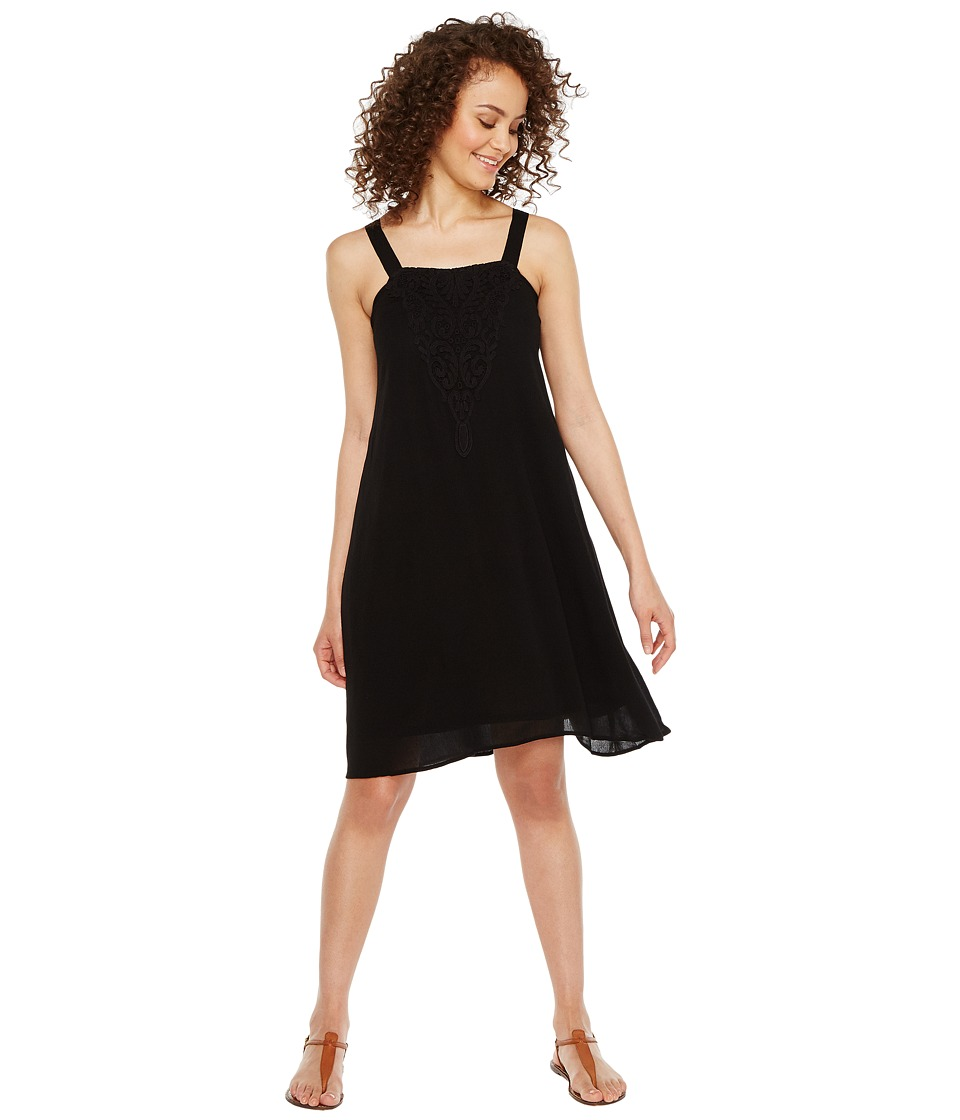 Roper 1008 C/P Crepe Dress (Black) Women