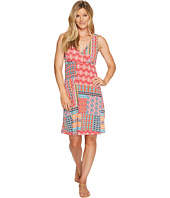 Roper - 0978 Floral Aztec Patch Print Tank Dress