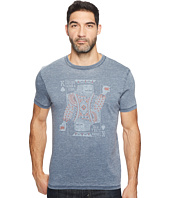 Lucky Brand - Drinking King Graphic Tee
