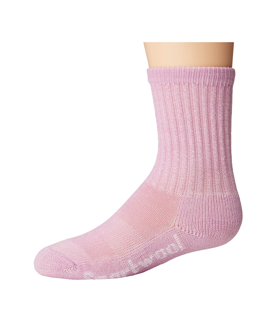 Smartwool - Hike Light Crew (Toddler/Little Kid/Big Kid) (Orchid) Crew Cut Socks Shoes