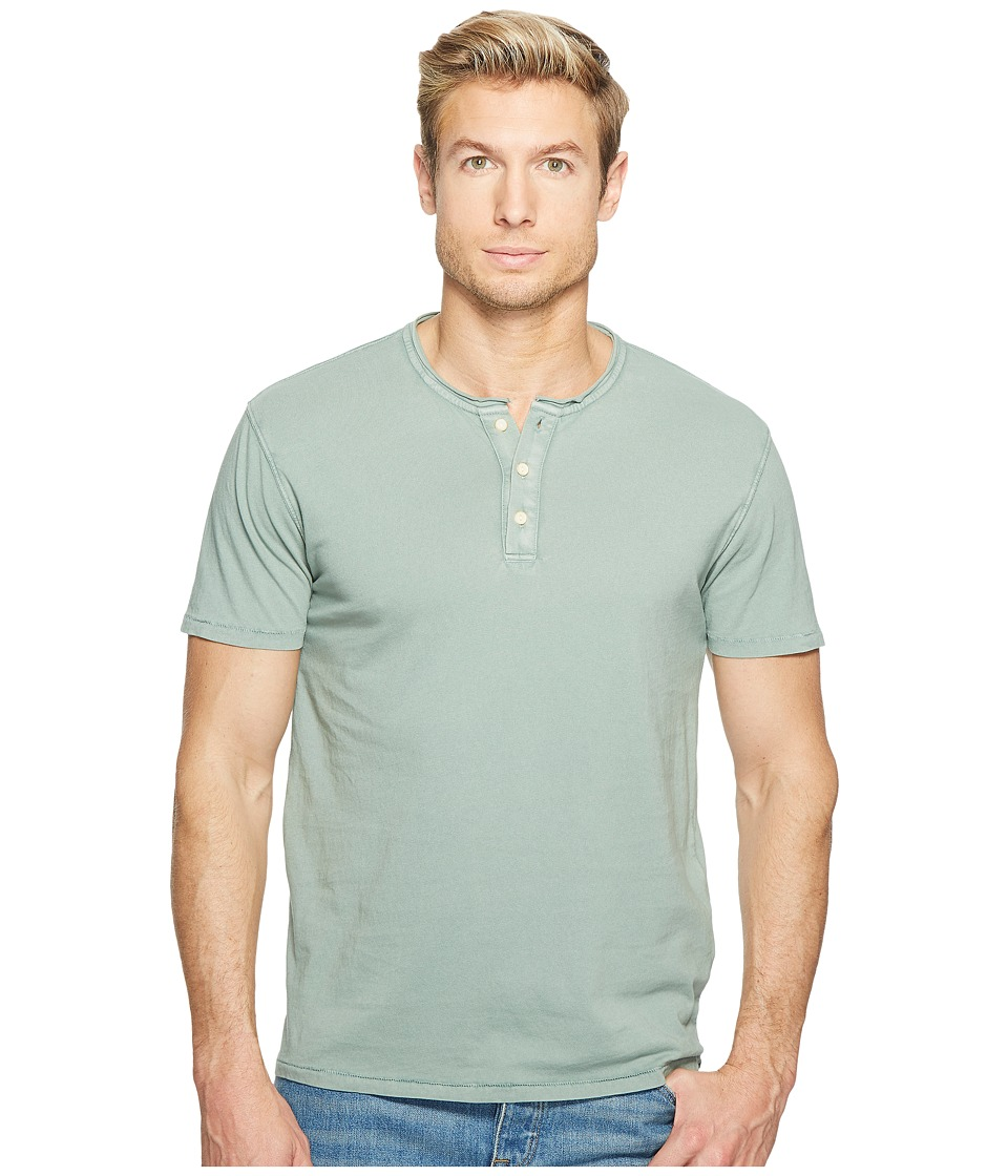 Lucky Brand Rolled Neck Henley (Laurel Wreath) Men