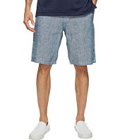 Lucky Brand - Chambray Flat Front Shorts