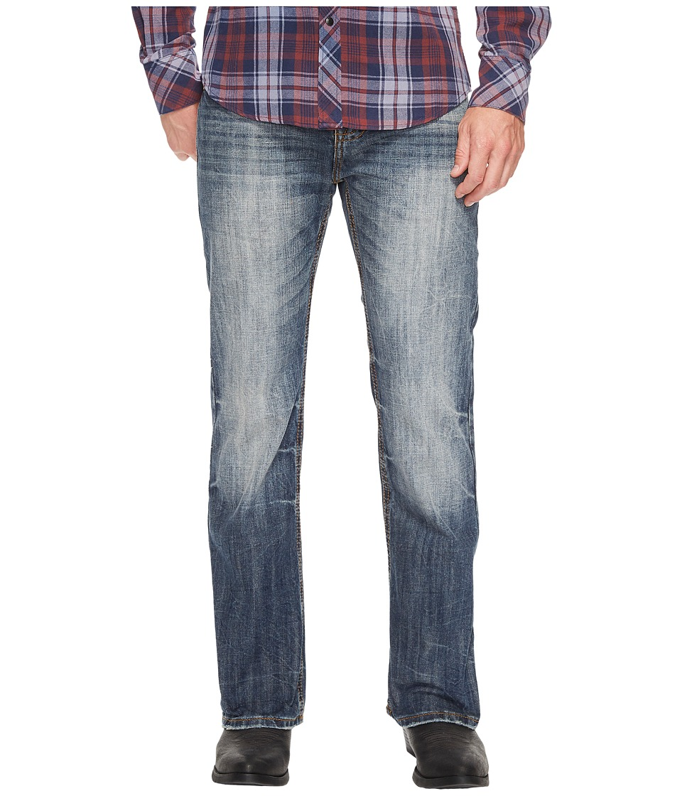 Rock and Roll Cowboy - Pistol Bootcut in Medium Vintage M0P3472