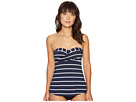 Seafolly Seafolly Castaway Stripe Wrap Front Trapeze Singlet Top