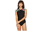 Seafolly - Island Vibe Cap Sleeve Maillot One-Piece