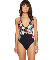Seafolly - Island Vibe Deep V Maillot One-Piece