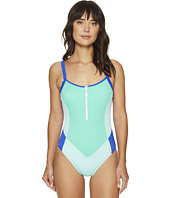 Nautica - Shades of the Sea Zip One-Piece