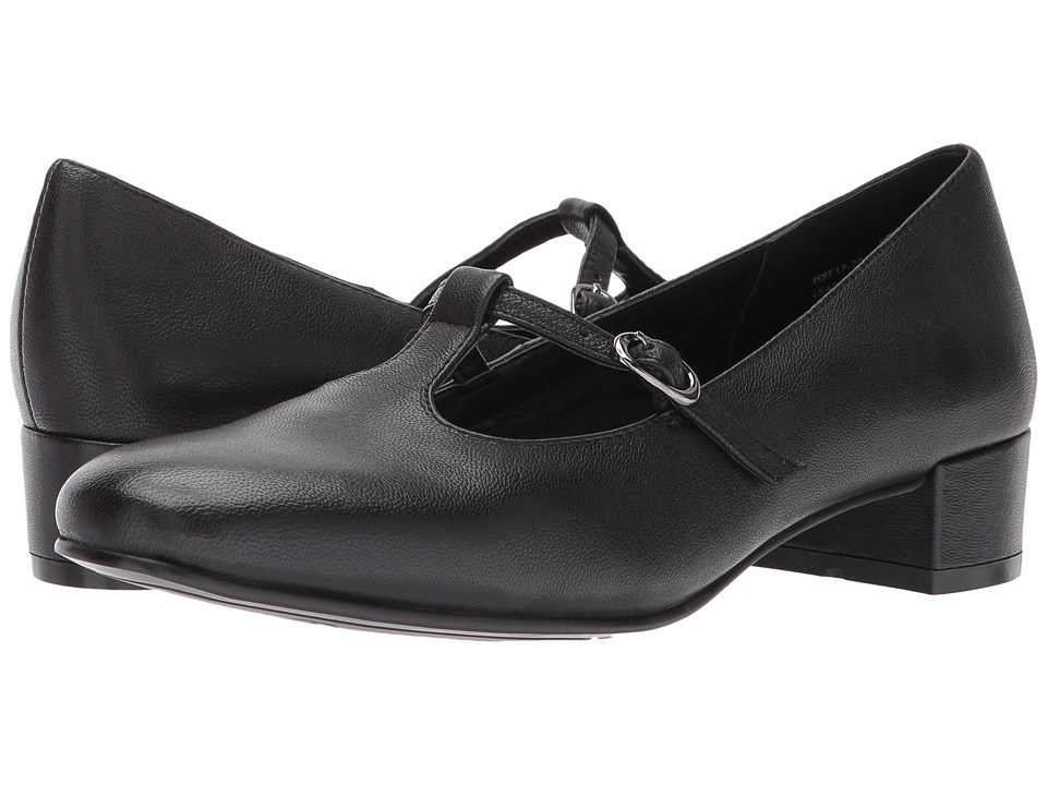 1950s Style Shoes David Tate - Emma Black Womens Shoes $77.99 AT vintagedancer.com