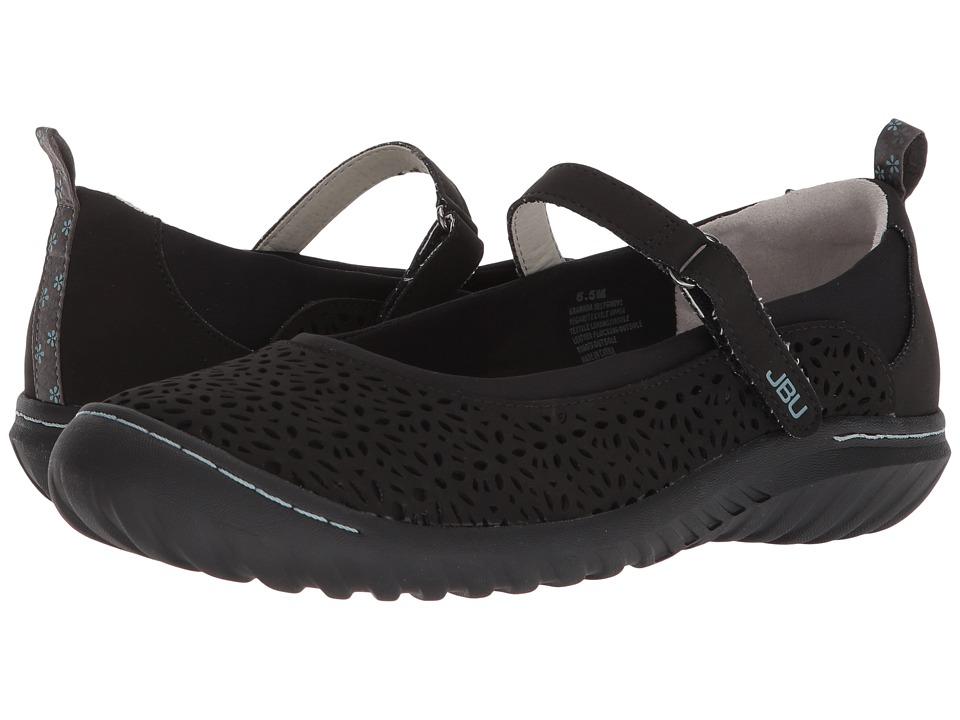 JBU Granada (Black Solid) Women's Shoes