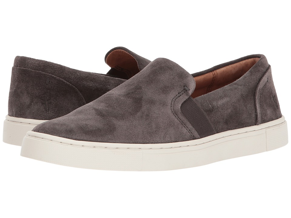 Frye Ivy Slip (Smoke Oiled Suede) Slip-On Shoes