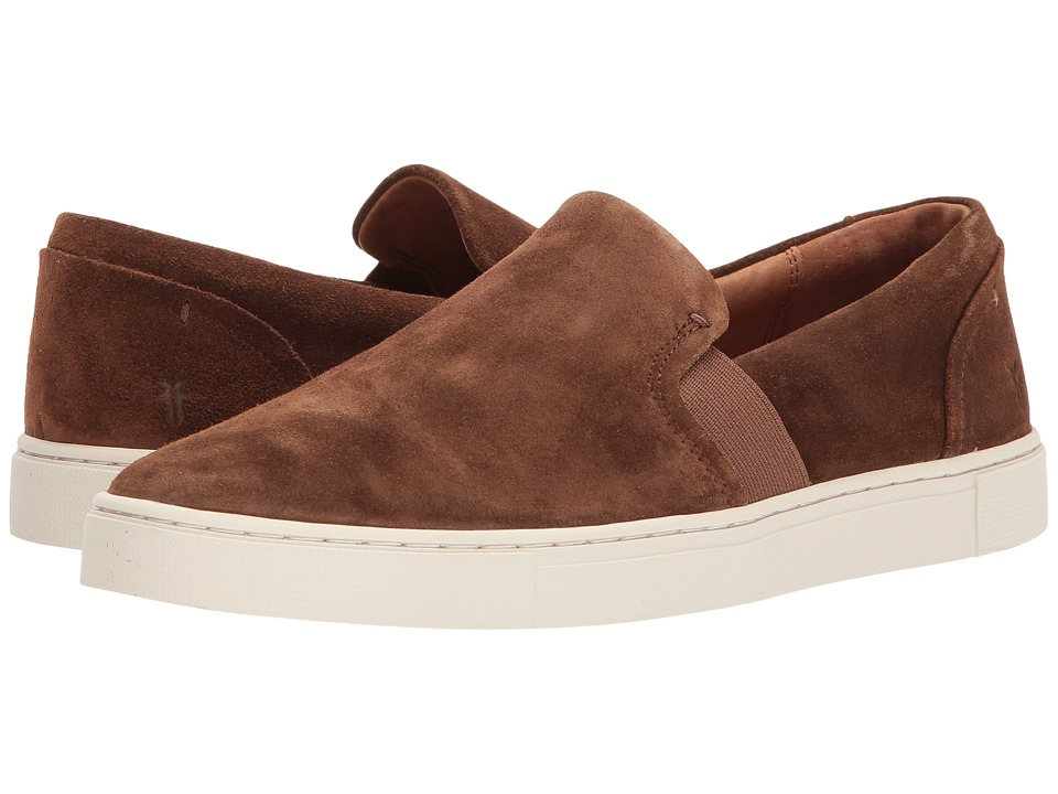 Frye Ivy Slip (Wood Oiled Suede) Slip-On Shoes
