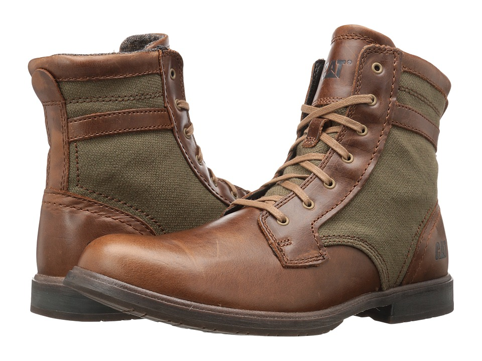Caterpillar Abe Canvas II (Brown Sugar/Olive) Men